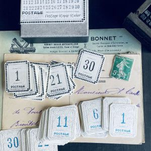 Lamp Paperi – Postal Stamp Sticker Numbers