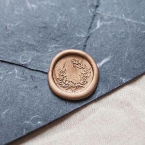 Stamptitude Wax Seals Wreath