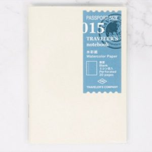 TN Passport Refill 015 – Watercolor