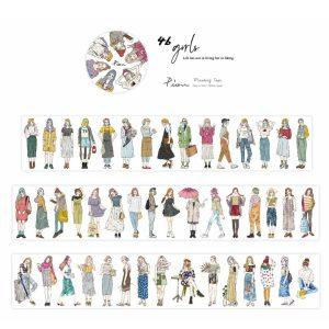 Pion Design Maskingtape – 46 Girls – NEW