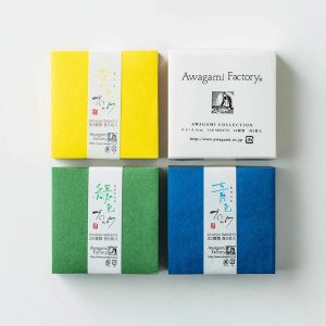 Awagami – Washipaper Collection Blocks – 4 Colors