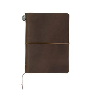 Traveler`s Notebook Passport Size BROWN