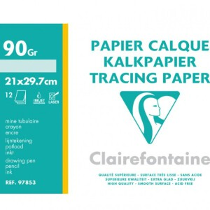 Clairefontaine A4 Paperpads – Kraft / Vellum