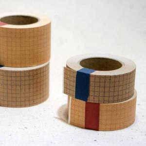 Classiky Kraft Grid Papertape