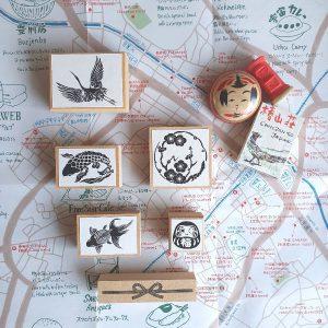 Cafe Analog 'Best Of Japan' Stamps
