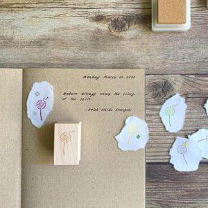 Dandelion Stamp By Baum-kuchen