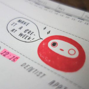 Baum-kuchen Daruma 'Make It Happen' Stamps