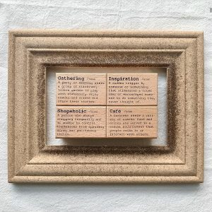Liberty Dictionary Stamps – Gathering & Cafe