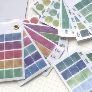 Kamio Color Swatch Washi Stickerbook