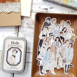 DOLLS Stickers By Windry R.