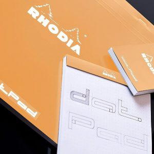 Rhodia Dotpads No.16 – Black/Orange