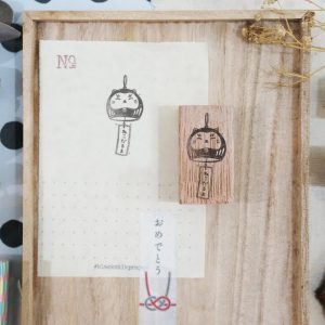 Blackmilk Project Stamp – Furin Neko Daruma