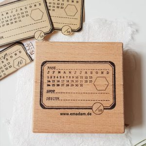 STATIONERY LOGSTAMP – Cafe Analog X Emadam.de