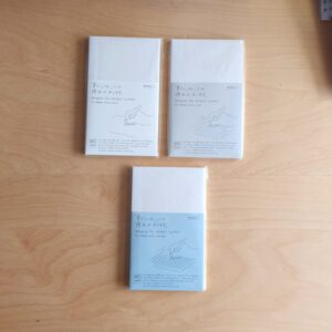 MD Notebooks M – B6 Slim (grid, Blank, Lines)