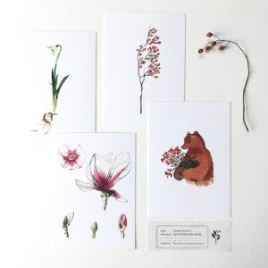 Postcards Mixed Series – By Caroline Vieira
