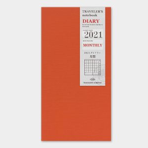 2021 Monthly Diary TRAVELER'S Notebook