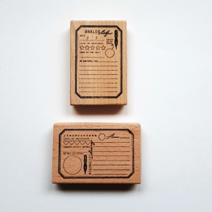 Cafe Analog MOOD-STAMPS