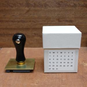 Mizushima – Perpetual Calendar Stamp