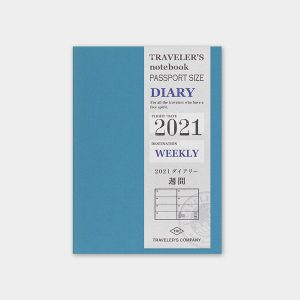 Diaries 2021 – Weekly Refill Passport