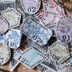 LCN Design Postage Stamp Paperpads