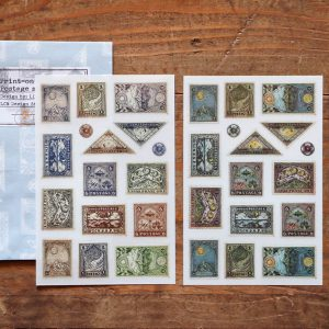 LCN Print-on Stickers Postage Stamps