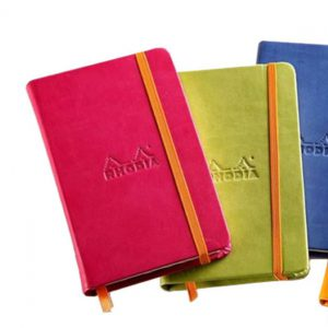 Rhodiarama Soft Cover Notebook (5 Colors)