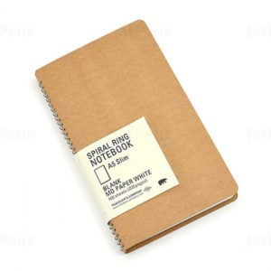 Spiral Ring Notebook – A5 Blank MD Paper