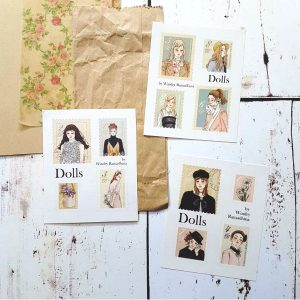 DOLLS Stamps Stickers By Windry R.