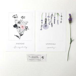 Artprints A5 'Symbotanica Series 1'- By Caroline Vieira