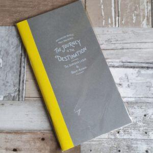 """Baum-kuchen Notebook """"Journey Is The Destination"""""""