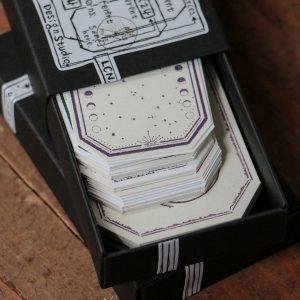 LCN Letterpress Vintage Tag – Set B(Label-shaped)