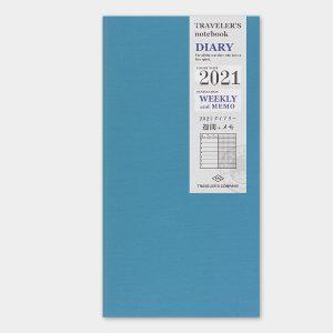 2021 Weekly + Memo Diary TRAVELER'S Notebook