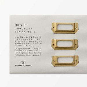 BRASS Label Plates