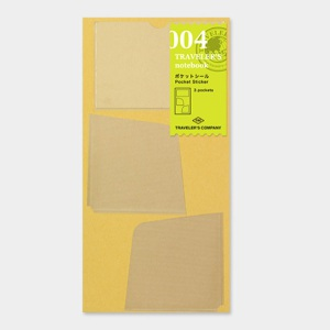 004. Pocket Stickers (3pcs.) TRAVELER'S Notebook