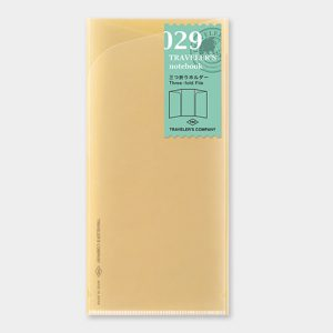 029. Three-fold File Refill TRAVELER'S Notebook