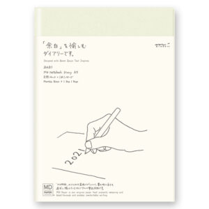 Midori 2021 – MD Notebook Diary (A5) 1 Day 1 Page