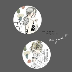 Pion – Sketchgirl Paper Tape 'Be Good'