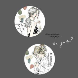 Pion – Sketchgirl Paper Tape 'Be Good'