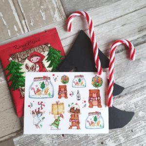 BlackMilk Project Pet Stickers – Christmas