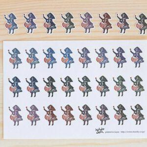 CLASSIKY Little Matchgirl Stickers