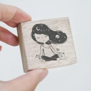Blackmilk Project Stamp – Meditate