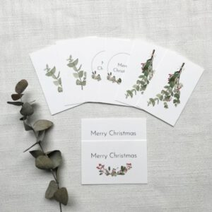 The Christmas Collection – Mini Giftcards By Caroline Vieira