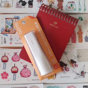 Kokuyo Gloo Glue Stick Orange