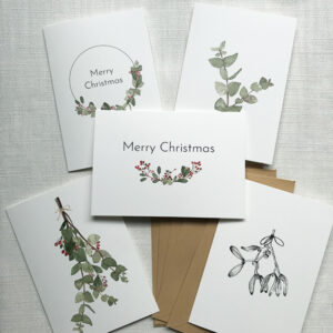 The Christmas Collection – Double Cards By Caroline Vieira