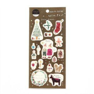 Miki Tamura – Christmas Stickers