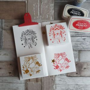 Year Of The Cow Stamps By Kodomo No Kao