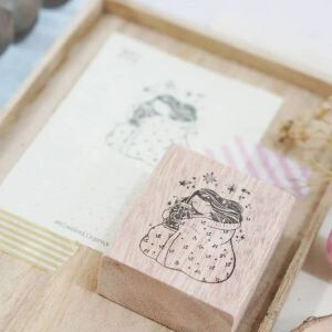 Black Milk Project Rubber Stamp – Goodnight