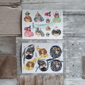 BlackMilk Project Pet Stickers – Girls B