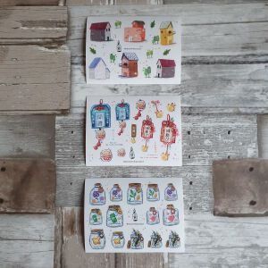 BlackMilk Project Pet Stickers – Good Luck
