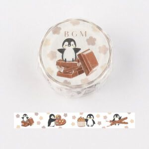 BGM Penguin & Chocolate Washi